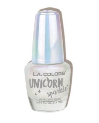 LA Colors Unicorn Sparkle Nail Polish - Sugar Snowflake