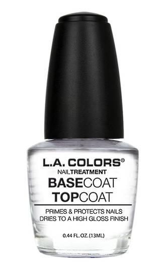 LA Colors Nail Treatment Base Coat/Top Coat