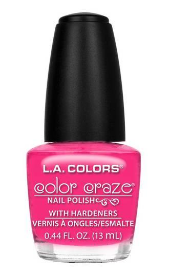 LA Colors Color Craze Nail Polish Absolute
