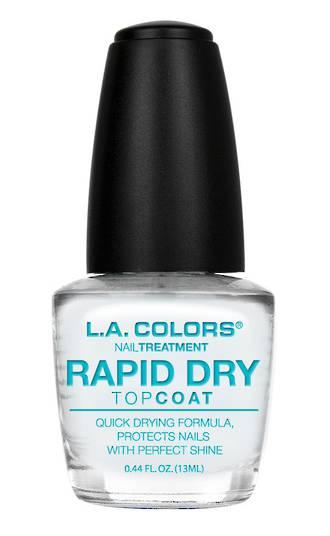 LA Colors Nail Treatment Rapid Dry Top Coat