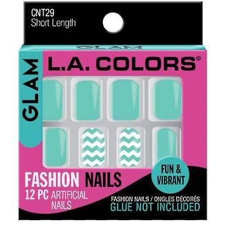 LA Colors Artificial Nail Tips - Glam