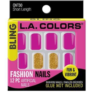 LA Colors Artificial Nail Tips - Bling