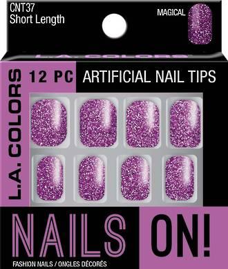 LA Colors Artificial Nail Tips - Magical