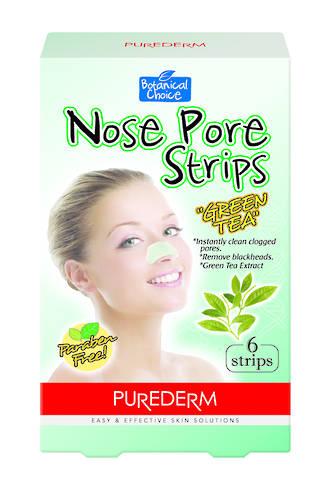 BC Purederm Nose Pore Strips - Green Tea