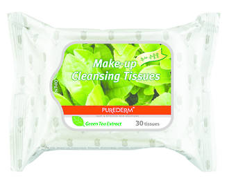 Purederm Makeup Remover Wipes - Green Tea