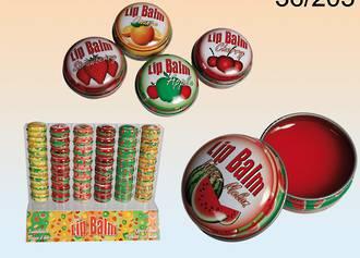 Trendy Fruits Lip Balm - Display 96pcs