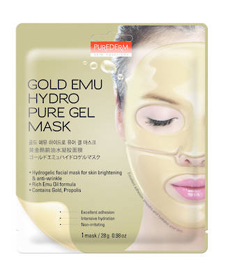 BC Gold Emu Hydrogel Mask