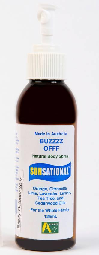 Sunsational Buzz Off Outdoor Spray