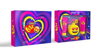 Emoji Crazy Love 3pc Gift Set