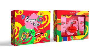 Emoji Sugar Kiss 3pc Gift Set