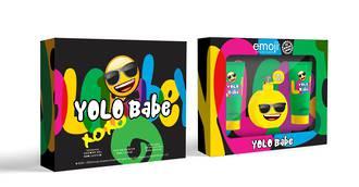 Emoji Yolo Babe 3pc Gift Set