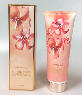 Shower Cream 240ml - Butterfly Flower