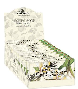 Vanilla Soap Display 100g - 12pcs
