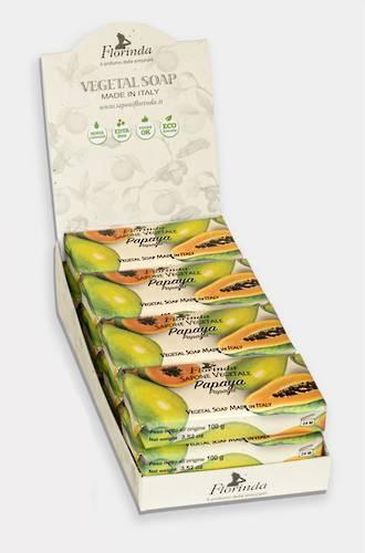 Papaya Soap Display 100g - 12pcs