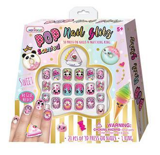 Pop Nail Glitz Set Sweets