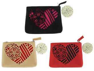 Unique Boutique Heartfelt Cosmetic Bag - Pack of 24pcs