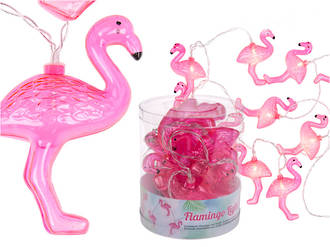 Flamingo Light Chain with 10 LED
