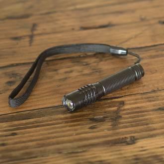 LitezAll 120 Lumen Mini Tactical Flashlight Display - 20pcs