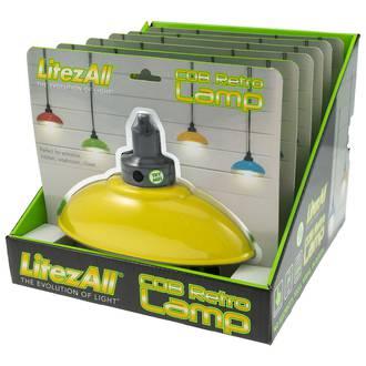 LitezAll COB LED Retro Wall Lamp Display - 6pcs