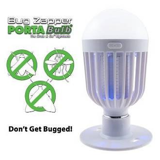 Bug Zapper PortaBulb Display - 6pcs
