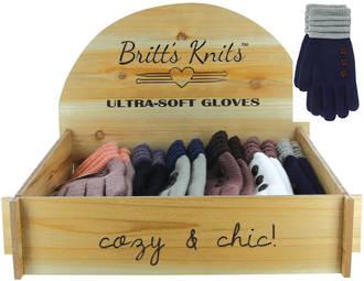 Britts Knits Ultra Soft Glove Display - 24pcs