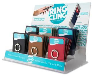 Ring Cling Cardholder Display - 24pcs