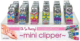 Oh So Pretty! Mini Nail Clipper Display - 24pcs