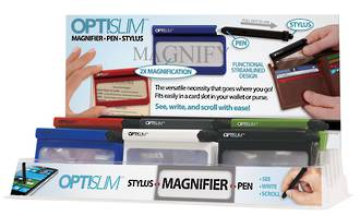 Opti Slim Walet Magnifier Display - 36pcs