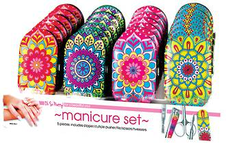 Oh So Pretty! 5pc Manicure Set Display - 24pcs