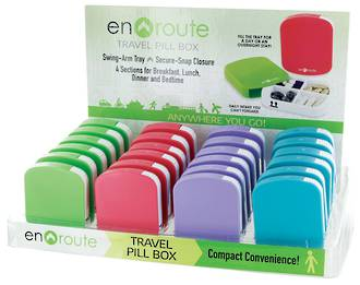 En Route Travel Pill Box Display - 24pcs