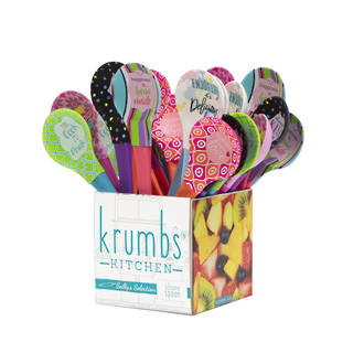 Imprinted Spoons Display - 24pcs