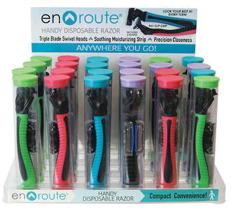Enroute Disposable Razor Display - 24pcs