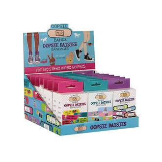 Oopsie Dasies Bandages Display - 24pcs