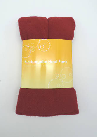 Rectangle Heat Pack – Red