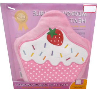 Cupcake Heat Pack – Pink Strawberry