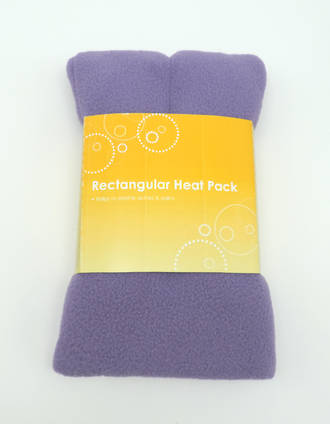 Rectangle Heat Pack - Lilac