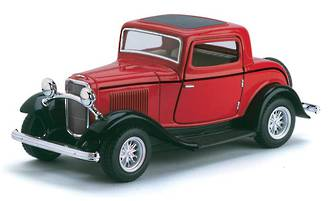 1932 Ford 3-Window Coupe Display - 12pcs