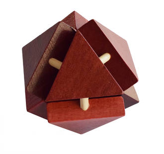 3D Wooden Puzzle