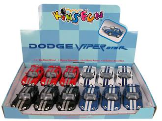 Dodge Viper GTSR Display - 12pcs