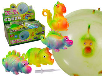 Inflatable Balloon Ball Dinosaur Display - 12pcs