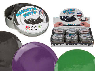 Magnetic Putty in Tin Display - 12pcs