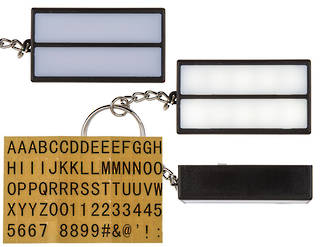 Metal Keychain Plastic Display Board