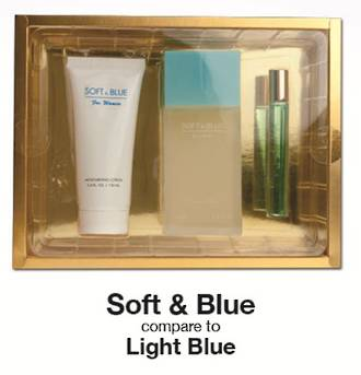 Womans EDP Gift Set - Soft & Blue