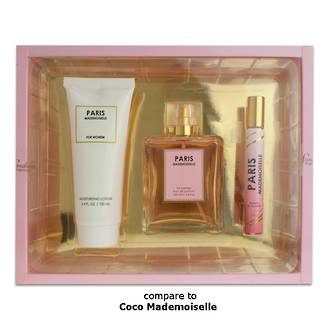 Womans EDP Gift Set - Paris Mademoiselle