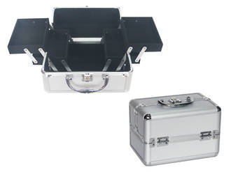 Aluminium Make up Case - Small