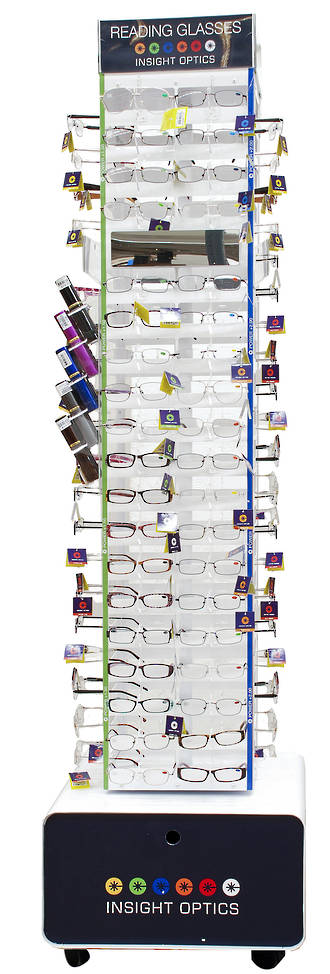 Insight Optics Reading Glasses Stand