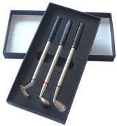 Golf Clubs Pen Set
