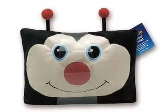 Ladybug Design Pillow Shape Blanket