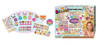 Scented Nail Collection - Woodland Friends