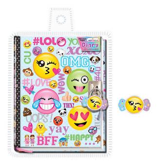 Emoji Diary with Lock & Keys